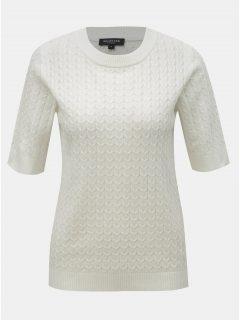 Bílý svetrový top Selected Femme Emma