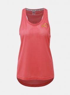 Růžový sportovní top Kari Traa Vilde