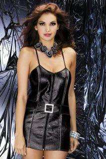 Sexy kostým Biker dress – Obsessive černá
