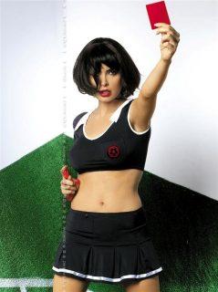 Sexy kostým Referee – Obsessive černá