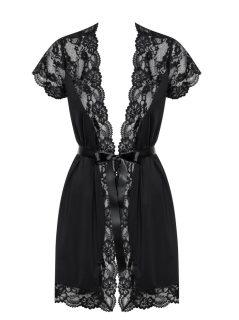 Elegantní župan 810 – PEI black XXL – Obsessive černá