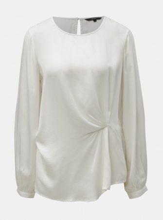 Bílá halenka s dlouhým rukávem VERO MODA Faithy - Halenky 21924974a4