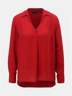 Červená halenka s límečkem Dorothy Perkins