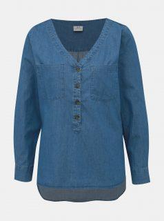 Modrá džínová halenka Jacqueline de Yong Eve