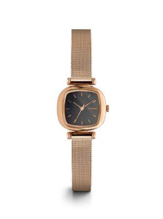 Dámské hodinky ve zlatorůžové barvě s nerezovým páskem Komono Moneypenny  Royale b333ab3901
