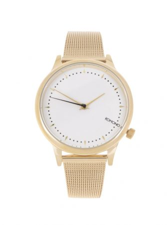 Dámské hodinky ve zlaté barvě s kovovým páskem Komono Estelle Royale ... 18ce4dd866