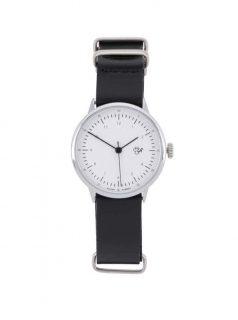 Dámské hodinky s černým koženým páskem CHPO Harold Mini