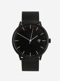 Unisex hodinky v černé barvě CHPO Nando Noir