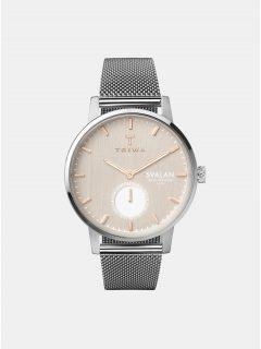 Dámské hodinky ve stříbnrné barvě TRIWA Blush Svalan