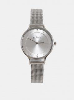 Dámské hodinky s nerezovým páskem ve stříbrné barvě Skagen