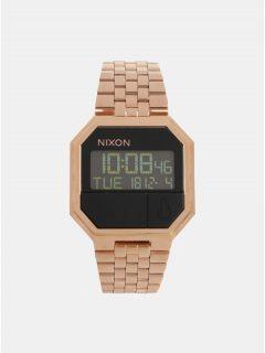 Dámské hodinky s nerezovým páskem v růžovozlaté barvě NIXON