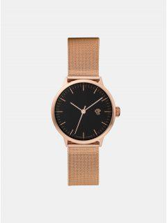 Dámské hodinky s kovovým páskem v růžovozlaté barvě CHPO Nando mini
