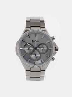 Pánské hodinky s kovovým páskem ve stříbrné barvě Lee Cooper