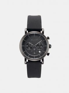 Pánské hodinky s černým páskem GANT