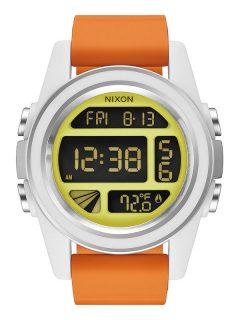 Nixon UNIT SW REBELPILOTORANGE pánské hodinky digitální – oranžová