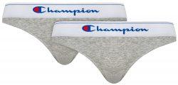 CHAMPION BRIEF CLASSIC 2x – 2 ks bavlněných kalhotek – šedá