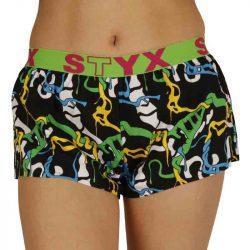 Dámské trenky Styx art sportovní guma jungle