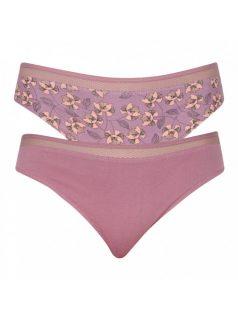 2PACK dámské kalhotky Lama fialové
