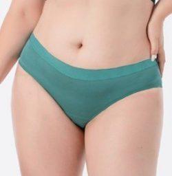 Pinke Welle Menstruační kalhotky Bikiny azurové – stř. a slabá menstruace (S)