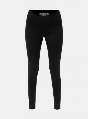fa81d56b444 Černé dámské legíny s fotbalovým vzorem adidas Originals Tight - Legíny