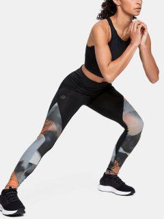 Legíny Under Armour UA Rush Legging – Print – černá