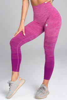 Legíny Gym Glamour Bezešvé Pink Ombré