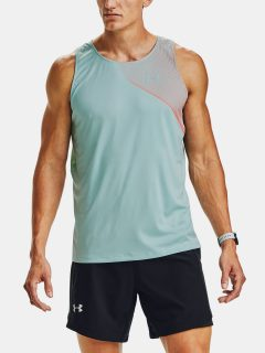 Tílko Under Armour M Qlifier ISO-CHILL Singlet-BLU