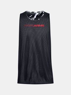 Tílko Under Armour UA BASELINE REVERSIBLE TANK-BLK