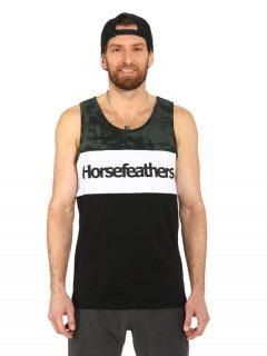 Horsefeathers SPAZ black pánská tílko – černá