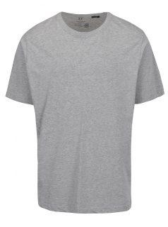 Šedé tričko s logem JP 1880