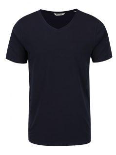 Tmavě modré basic tričko ONLY & SONS Basic