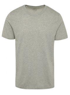 Šedé tričko Selected Homme The Perfect