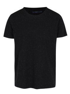 Černé tričko s krátkými rukávy SUIT Halifax