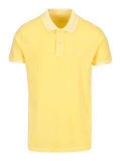 Žluté pánské polo tričko GANT