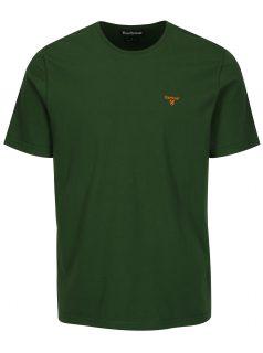 Zelené tailored fit tričko Barbour Sports Tee