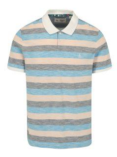 Růžovo-modré pruhované polo tričko Original Penguin