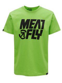 Zelené pánské tričko MEATFLY Shaper