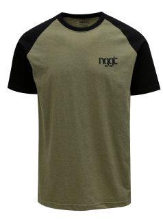 Khaki pánské tričko NUGGET Asset