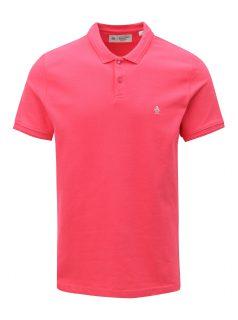 Růžové polo tričko Original Penguin Raised