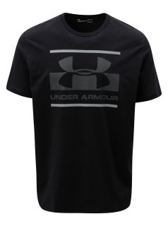 Černé pánské funkční tričko s potiskem Under Armour