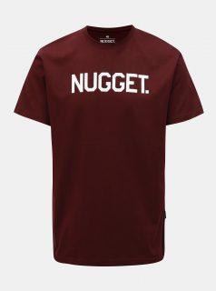Vínové pánské tričko Nugget