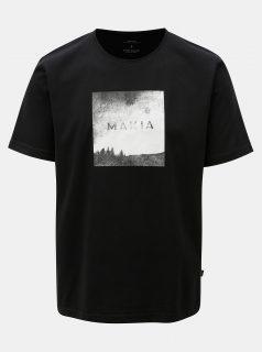 Černé tričko s potiskem Makia Viev