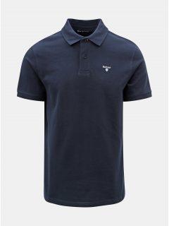 Tmavě modré polo tričko s drobnou výšivkou Barbour Sports Polo