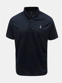 Tmavě modré funkční polo tričko Mr. Sailor