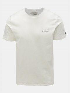Krémové slim tričko Jack & Jones Gonzo