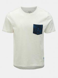 Bílé slim fit tričko ONLY & SONS Next