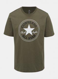 Khaki pánské tričko s potiskem Converse