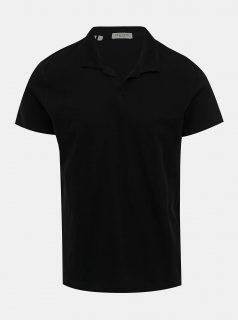 Černé polo tričko Selected Homme Fillipe