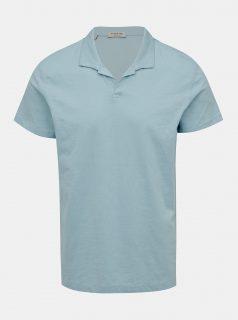 Světle modré polo tričko Selected Homme Fillipe