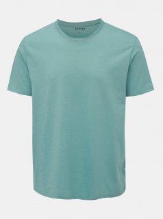 Zelené basic tričko Burton Menswear London